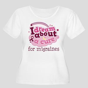 Migraine Cure Dream Women's Plus Size Scoop Neck T