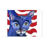 Cat 5 Celebrates the 4th Postcards (Package of 8)