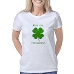 Kiss Me, I'm Lucky Women's Classic T-Shirt