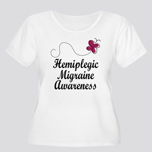 Hemiplegic Migraine Awareness Women's Plus Size Sc