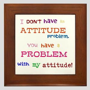 Attitude Framed Tile