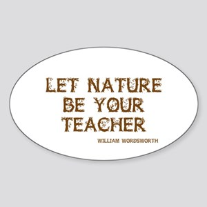 Nature Sticker (Oval)