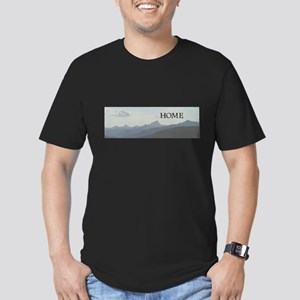 Mountains Men's Fitted T-Shirt (dark)