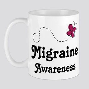 Migraine Awareness Butterfly Mug