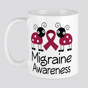 Migraine Awareness Ladybug Mug