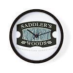 Saddler's Woods Wall Clock