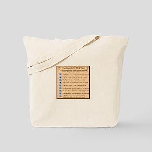 9 Harbingers Tote Bag
