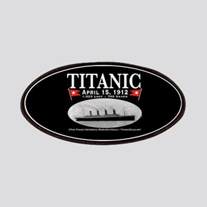 Titanic Ghost Ship (black) Patches