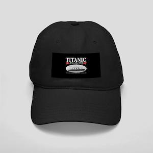 Titanic Ghost Ship (black) Black Cap