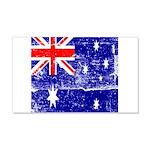 Vintage Australian Flag 22x14 Wall Peel