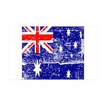 Vintage Australian Flag 38.5 x 24.5 Wall Peel