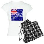 Vintage Australian Flag Women's Light Pajamas
