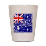 Vintage Australian Flag Shot Glass