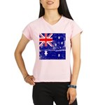 Vintage Australian Flag Performance Dry T-Shirt