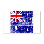 Vintage Australian Flag Car Magnet 20 x 12