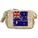 Vintage Australian Flag Messenger Bag