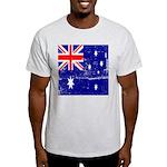 Vintage Australian Flag Light T-Shirt