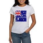 Vintage Australian Flag Women's T-Shirt