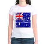 Vintage Australian Flag Jr. Ringer T-Shirt