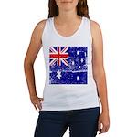 Vintage Australian Flag Women's Tank Top