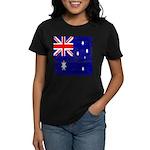 Vintage Australian Flag Women's Dark T-Shirt