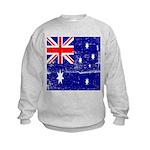 Vintage Australian Flag Kids Sweatshirt