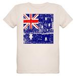 Vintage Australian Flag Organic Kids T-Shirt