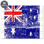 Vintage Australian Flag Puzzle