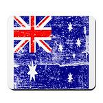 Vintage Australian Flag Mousepad