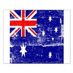 Vintage Australian Flag Small Poster