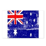 Vintage Australian Flag Postcards (Package of 8)