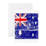 Vintage Australian Flag Greeting Cards (Pk of 10)