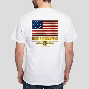 """""""Battle of Cowpens"""" White T-Shirt"""