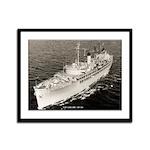 USS CASCADE Framed Panel Print