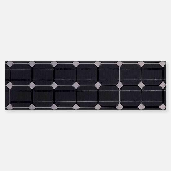 Solar Panel Sticker (Bumper)