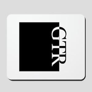 GTR Typography Mousepad