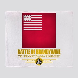 """Battle of Brandywine"" Throw Blanket"