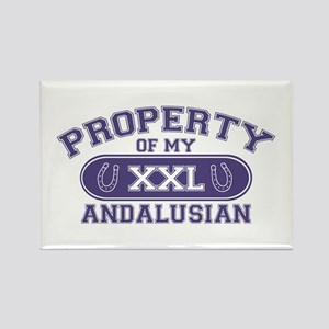 Andalusian PROPERTY Rectangle Magnet