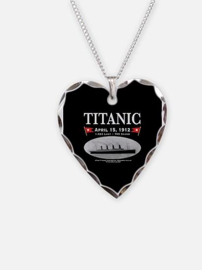 Titanic Ghost Ship (black) Necklace