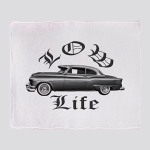 low life lowrider Throw Blanket