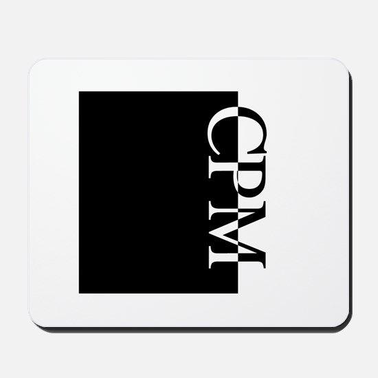 CPM Typography Mousepad