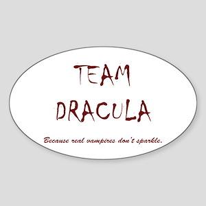 Team Dracula Sticker (Oval)