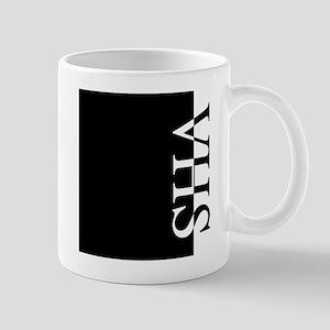 VHS Typography Mug