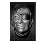 Pirate Head Postcards (Package of 8)