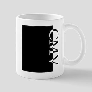 CMV Typography Mug