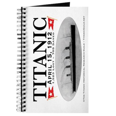 Titanic Ghost Ship (white) Journal