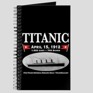 Titanic Ghost Ship (black) Journal