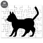 Shadow Cat Puzzle