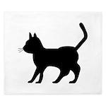 Shadow Cat King Duvet