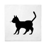 Shadow Cat Queen Duvet